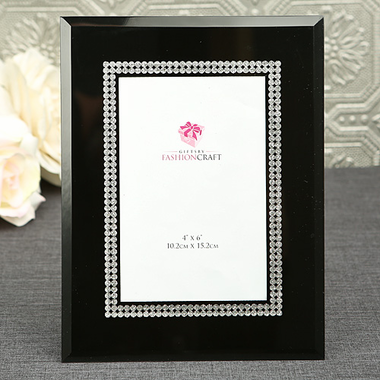 Black and Silver Photo Frame