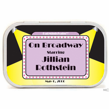 Broadway Theme Mint Tins