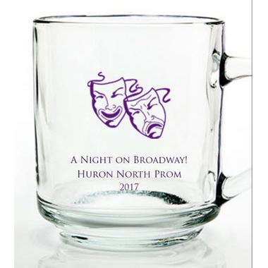 Broadway Theme Prom Mugs