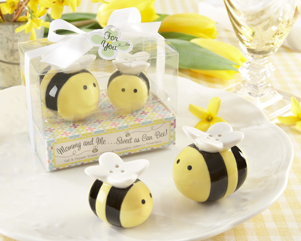 Bumble Bee Baby Salt And Pepper Favors