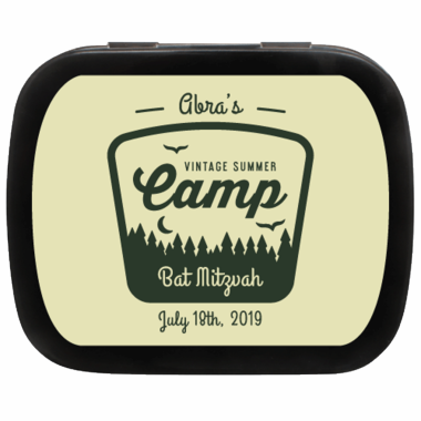 Camping Themed Mint Tins