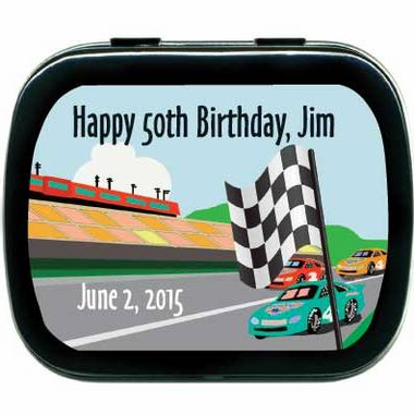 Cars Birthday Party Favors Mint Tins