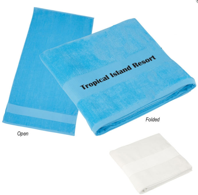 cheap personalized beach towels
