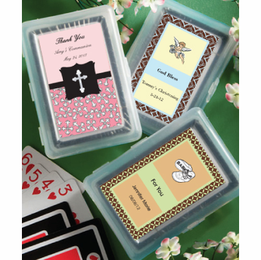Communion Playing Cards - Customization on Label Only