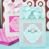 Christening Favor Bags Candy Bo Set Of 12
