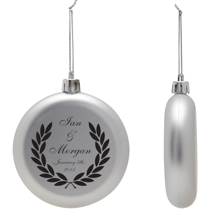 Christmas Ornament Wedding Favors - Acrylic