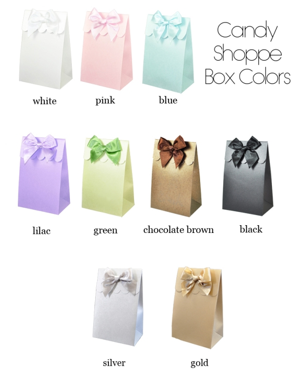 Communion Favor Bags Candy Boxes Set Of 12
