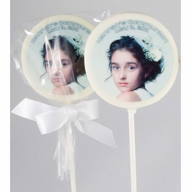 Communion Favors Photo Chocolate