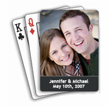 Wedding Photo Playing Cards - Set of 20