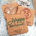 Customizable Cork Coasters