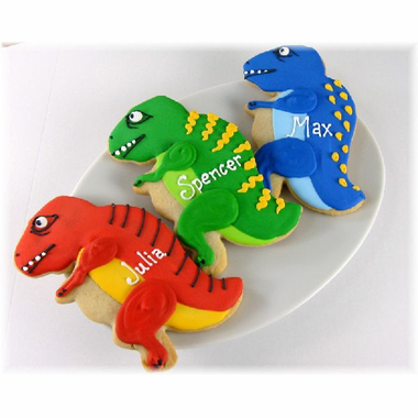 Dinosaur Cookies Favors