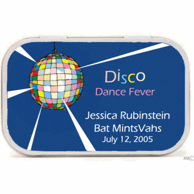 Disco Theme Party Mint Tins