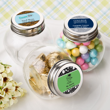 DIY Graduation Candy Jars