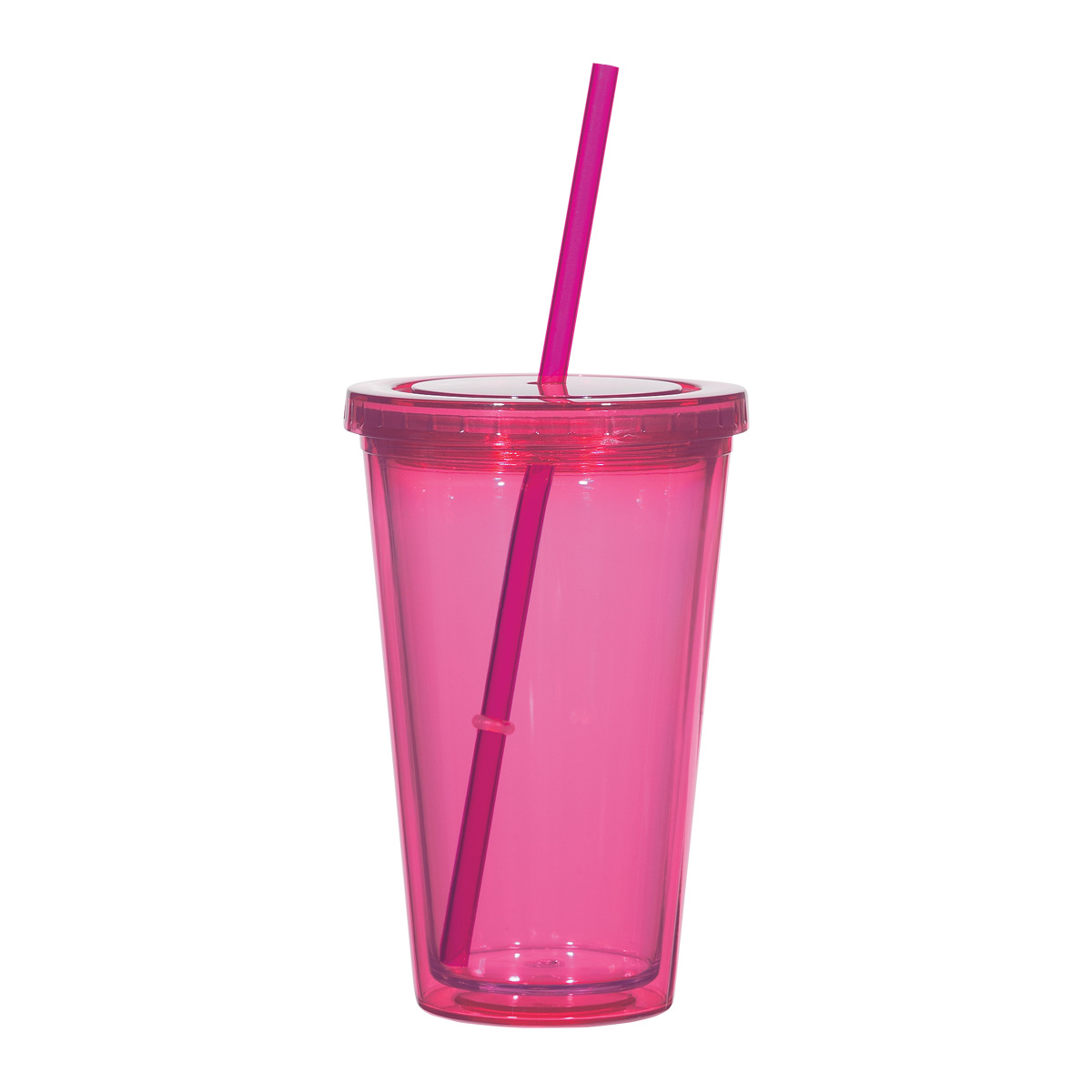 Double Wall Tumblers with Straw