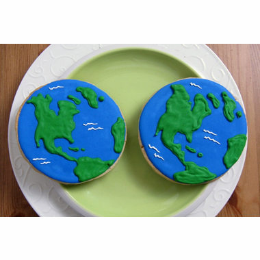 Earth Favor World Cookies