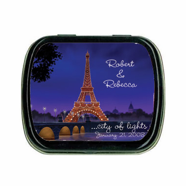 Eiffel Tower Mint Tins
