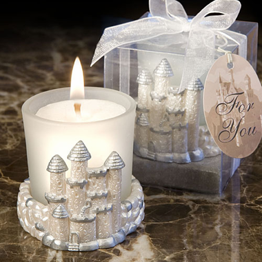 Fairy Tale Castle Candle Favor