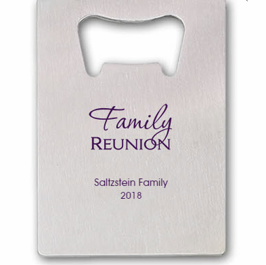 Family Reunion Bottle Openers