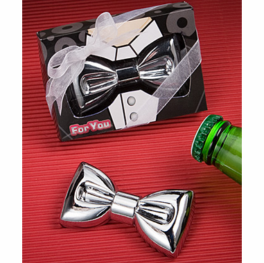 Favor Bottle Opener Bow Tie