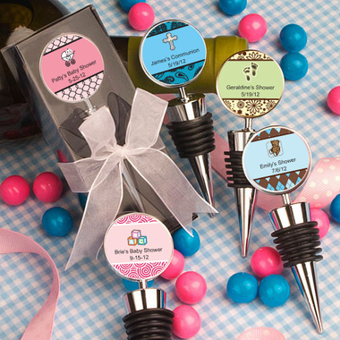 Favors for Communion Bottle Stopper