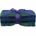 Fleece Throw Blankets Plaid