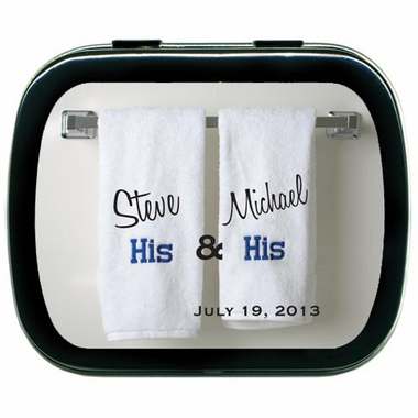 Gay Wedding Decorations Custom Tins