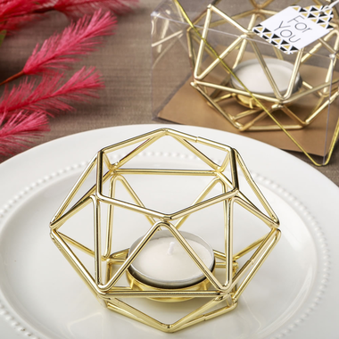 Geometric Tea Light Candle Holders