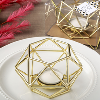 Geometric Wedding Favors