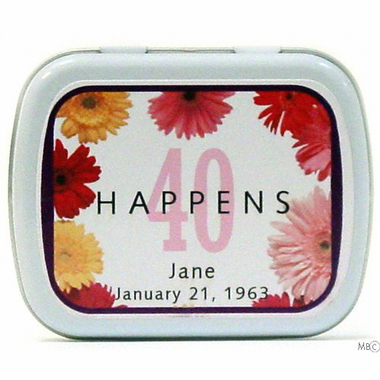 Gerber Personalized Mint Tin Favor