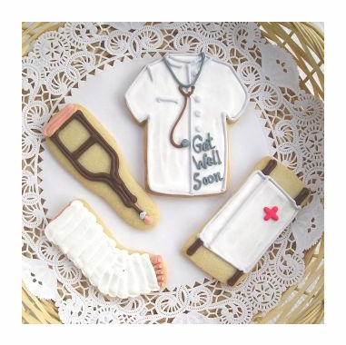Medical School Graduation  Cookies