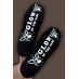 Glow In The Dark Custom Slipper Socks