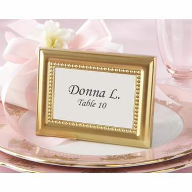 Gold Place Card Holders Frame
