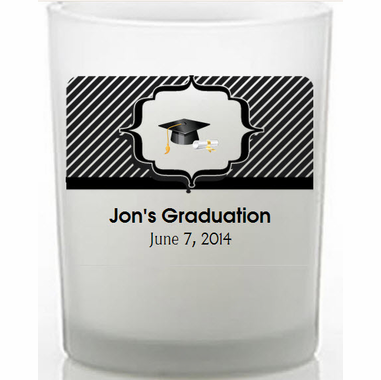 Graduation Candles - You Place Labels On Candle