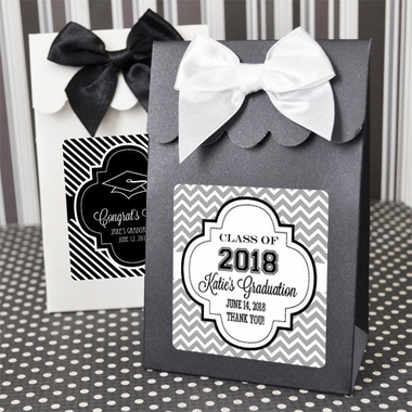 Graduation Goody Bags Candy Boxes- Set of 12