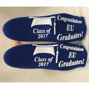 Graduation Grippy Socks