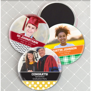 Photo Graduation Magnets