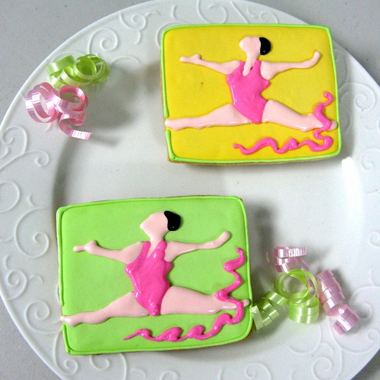 Gymnastics Favors - Cookies