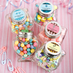 Heart Glass Jars Religious