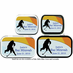Ice Hockey Party Favors Mint Tins