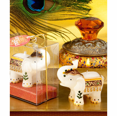 Indian Party Decorations Elephant Candle Favors