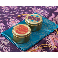 Indian Personalized Tins - Set of 12