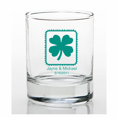 Irish Favors Custom Shot Glasses