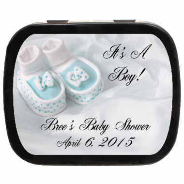 It's A Boy or It's A Girl Baby Shower Mint Tins