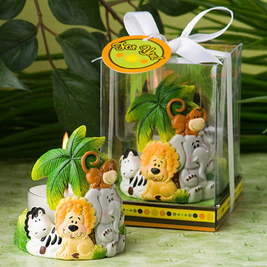 Jungle Theme Favors Candle
