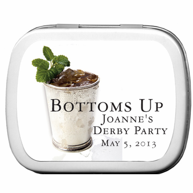 Kentucky Derby Party Favors Tins