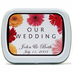 Kosher Wedding Favors - Daisy Mint Tins