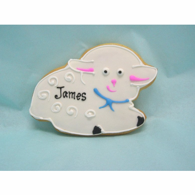 Lamb Cookie Favors