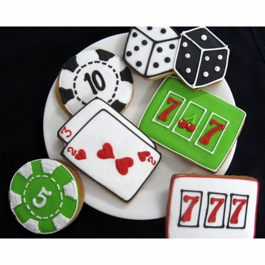 Las Vegas Cookie favors