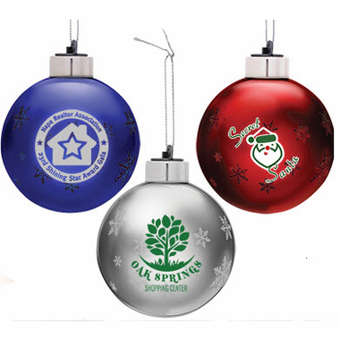 light up custom christmas ornaments out of stock