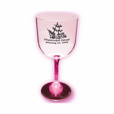 Light Up Wine Glasses - Goblet Style